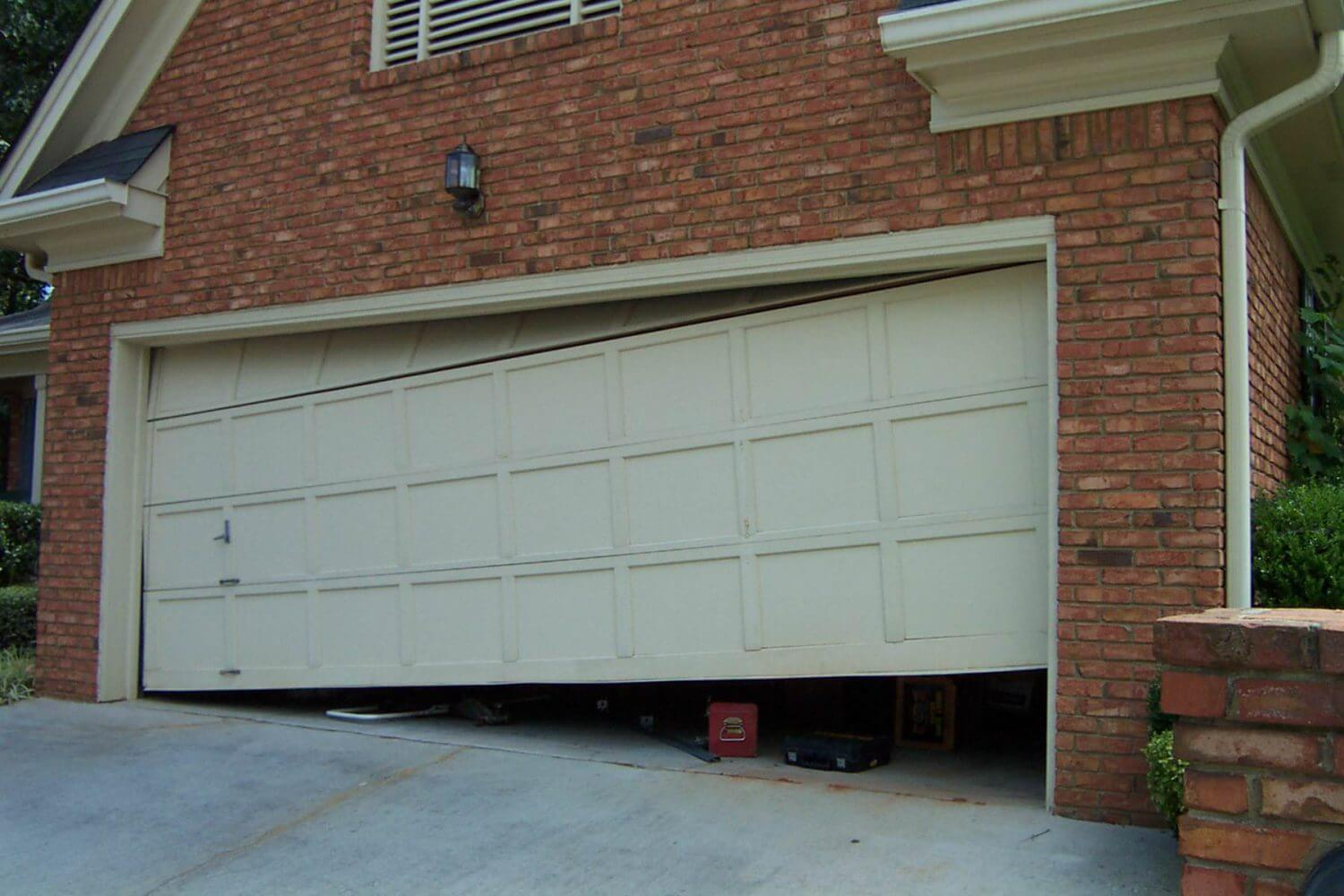 garage door off trackGarage Door Off Track  Family Christian Doors DFW Garage Door
