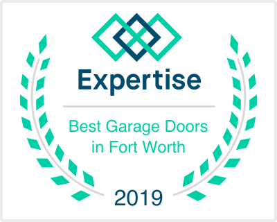 expertise award 2019 best garage doors in fort worth